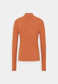 Vero Moda Tall - VMEFFIE HIGHNECK - Long sleeved top - auburn/melange - 1