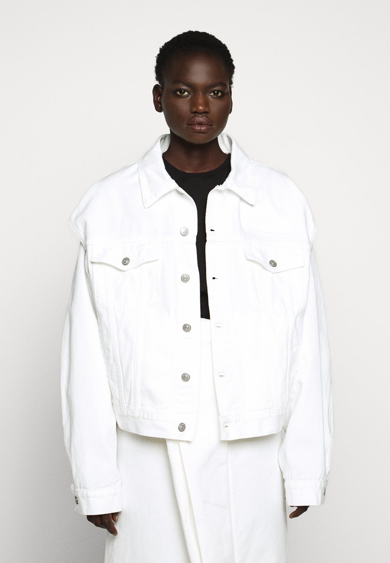 MM6 Maison Margiela - JACKET - Giacca di jeans - off white