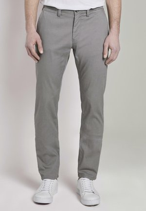 WASHED STRUCTURE CHINO - Chinos - concrete grey