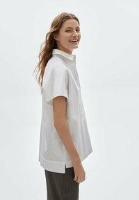 Massimo Dutti - Polo shirt - white - 1