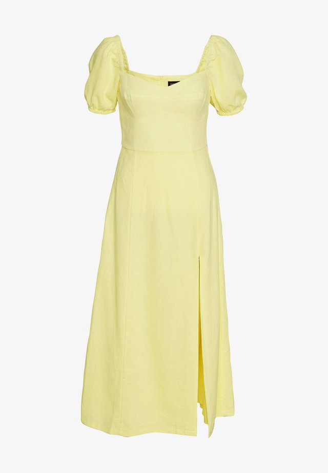 JACYNTA DRESS - Juhlamekko - sun yellow
