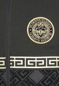 Glorious Gangsta - SINTOS HOOD - Zip-up hoodie - black/gold - 5