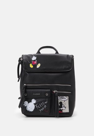 BACK MICKEY ROCK NERANO - Ryggsekk - black