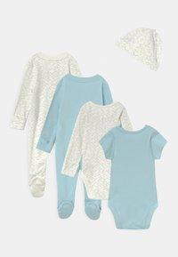 Marks & Spencer London - BABY STARTER SET - Print T-shirt - light blue - 1