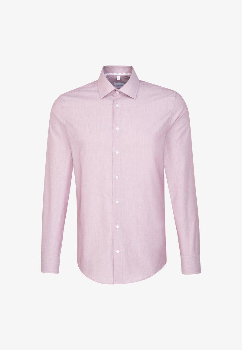 Seidensticker - SLIM - Formal shirt - rot