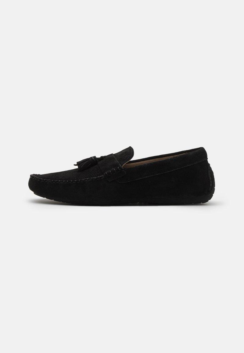 Burton Menswear London - FLINT TASSEL DRIVER - Mokasíny - black