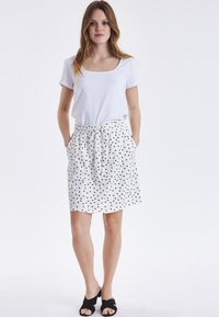 b.young - BYPANDINA  - A-line skirt - off white - 1
