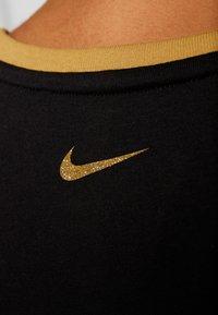 Nike Performance - DRY TANK GLAM DUNK - T-shirt sportiva - black/metallic gold - 5