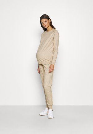 ONLYOUNGERPANTS PULLOVER SET - Tracksuit - humus
