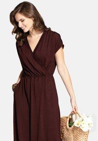 HotSquash - Maxi dress - chocolate - 2