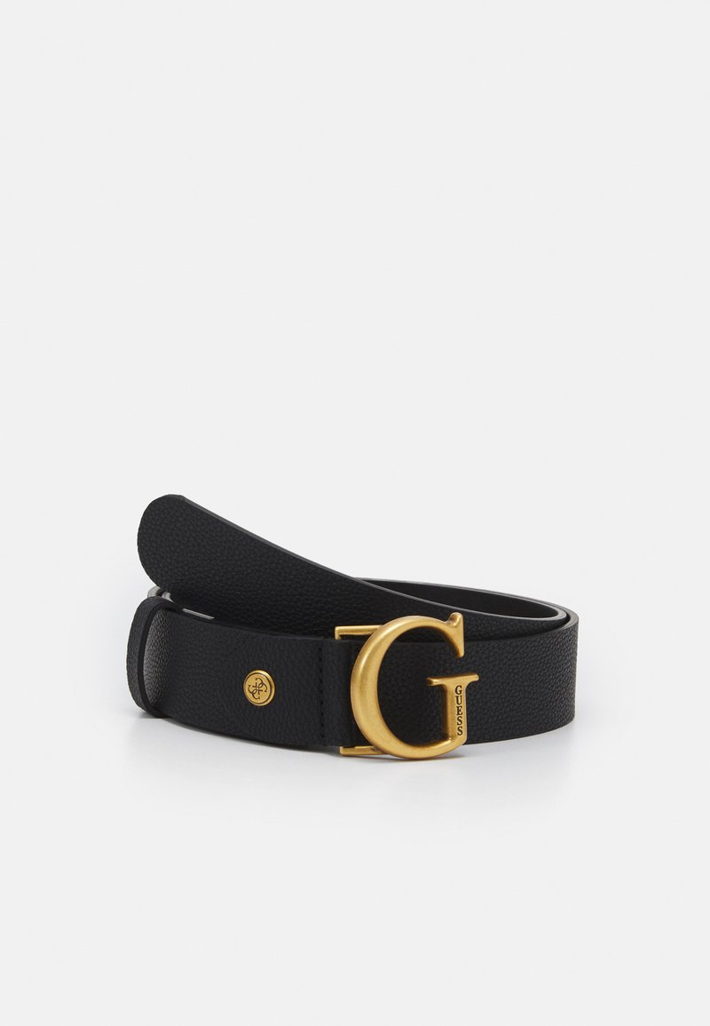 Guess - CORILY ADJUSTABLE PANT BELT - Pásek - black