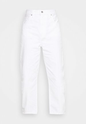 BARREL - Relaxed fit jeans - white sails