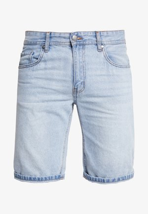 ROLLER - Denim shorts - rigid stone blue