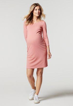 ZINNIA - Shift dress - rose tan
