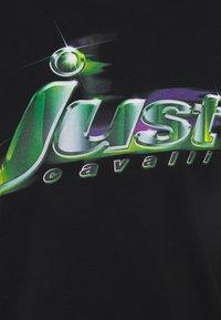 Just Cavalli - T-shirt con stampa - black - 6
