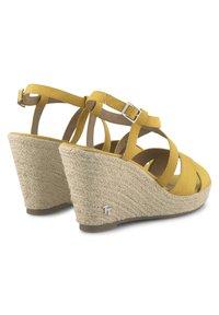TOM TAILOR - Sandalen met hoge hak - yellow - 3