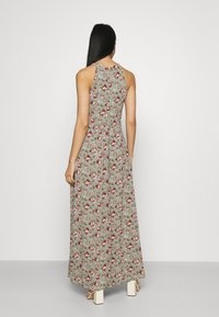 Vila - VIMILINA FLOWER DRESS - Occasion wear - green milieu/red/pink - 2