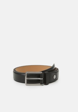 TWO FINISH BUCKLE - Pásek - black