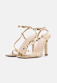 RAID - LURIANE - Korolliset sandaalit - gold metallic - 2