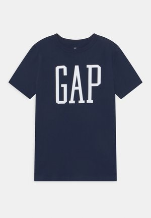 T-shirt print - tapestry navy