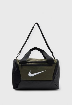 UNISEX - Sportovní taška - cargo khaki/black/white