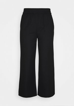 ONLNAIRI CECILY WIDE PANT - Bukse - black
