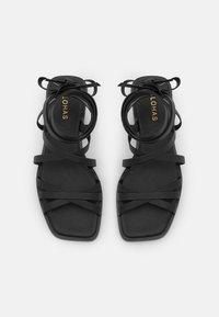 ALOHAS - ELEMENT - Sandals - black - 4