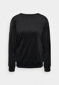 Hunkemöller - TOP SHIMMER TAPE - Noční košile - black - 0