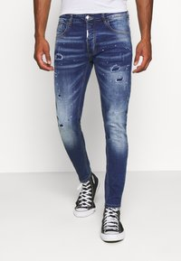 Alessandro Zavetti - CARROT FIT - Jeans Tapered Fit - indigo - 0