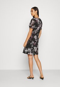 Vero Moda - VMKATINKA SHORT DRESS - Day dress - black