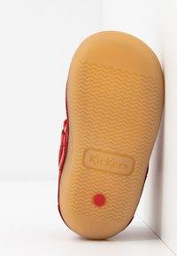Kickers - SABIO - Vauvan kengät - rouge perm - 5