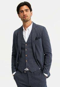 HEREN SLIM FIT  - Suit jacket - dark blue