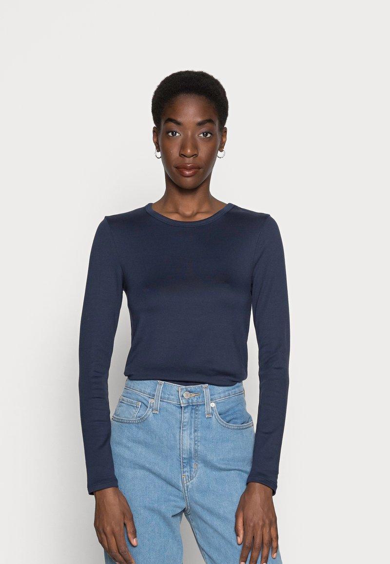 GAP - CREW - Långärmad tröja - true indigo