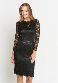 Madam-T - TROPICANA - Cocktail dress / Party dress - schwarz - 0