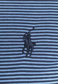 Polo Ralph Lauren - CUSTOM SLIM FIT SOFT COTTON T-SHIRT - Print T-shirt - cabana blue/french navy - 2
