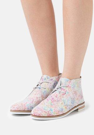Casual lace-ups - multicolor