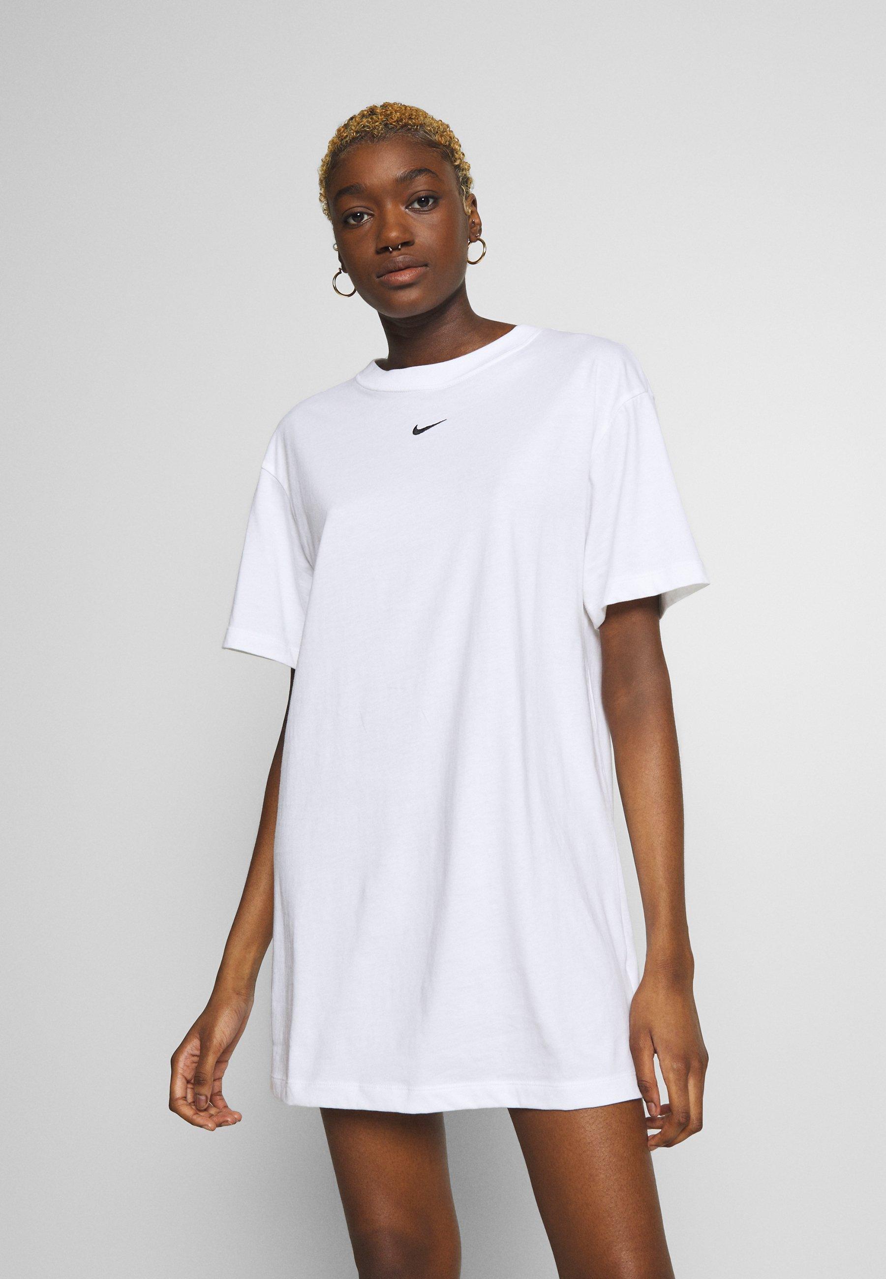 Jerseykleid   white/black