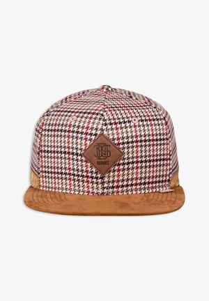 6 PANEL SNAPBACK - Cap - red/grey