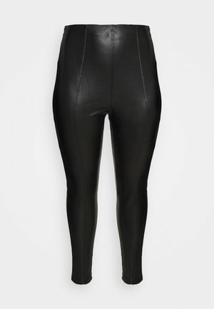 LEGGING - Leggings - Trousers - black