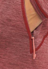 PYUA - Felpa con cappuccio - mahogany red - 3