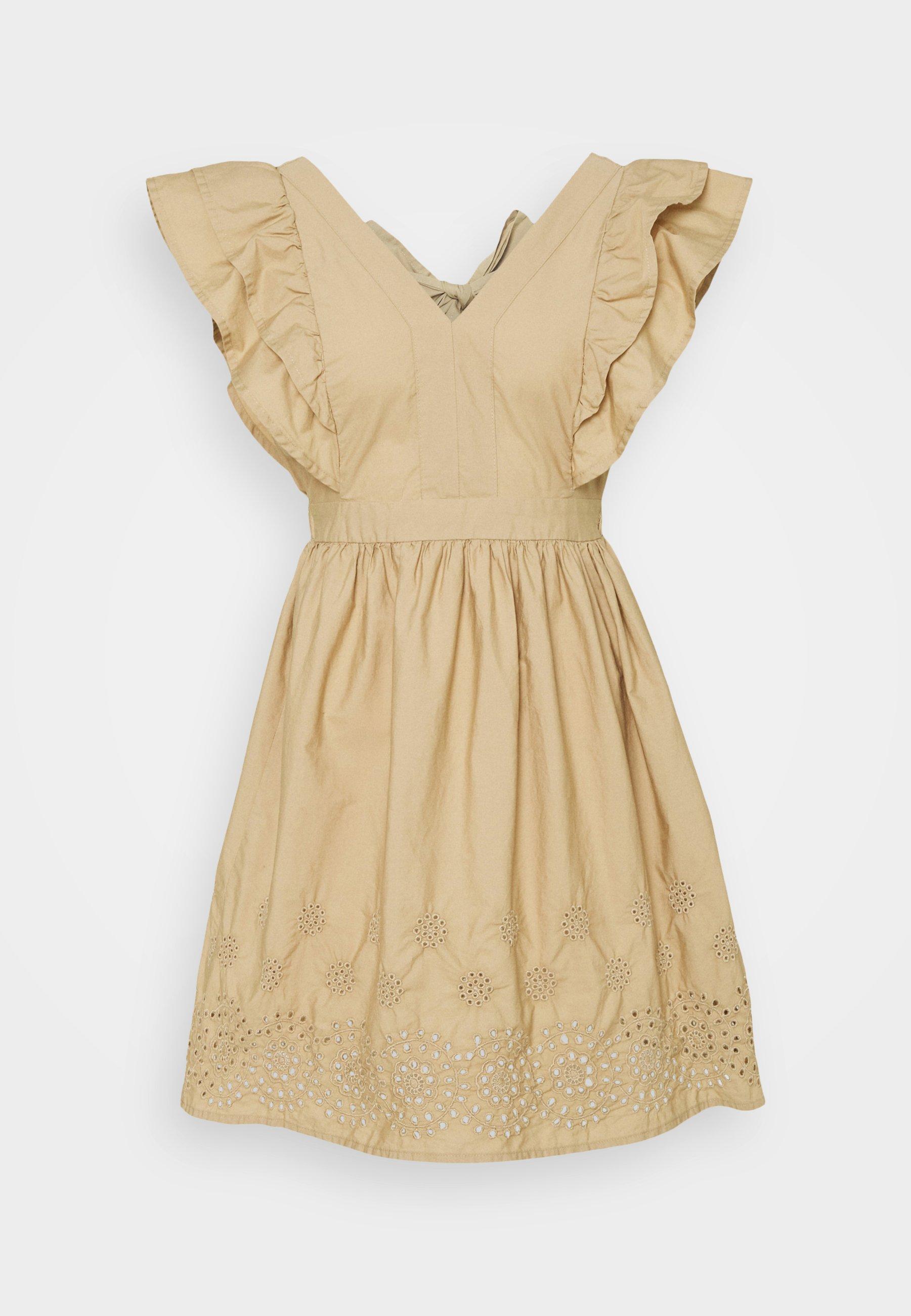 Women VMLISA SHORT DRESS - Day dress