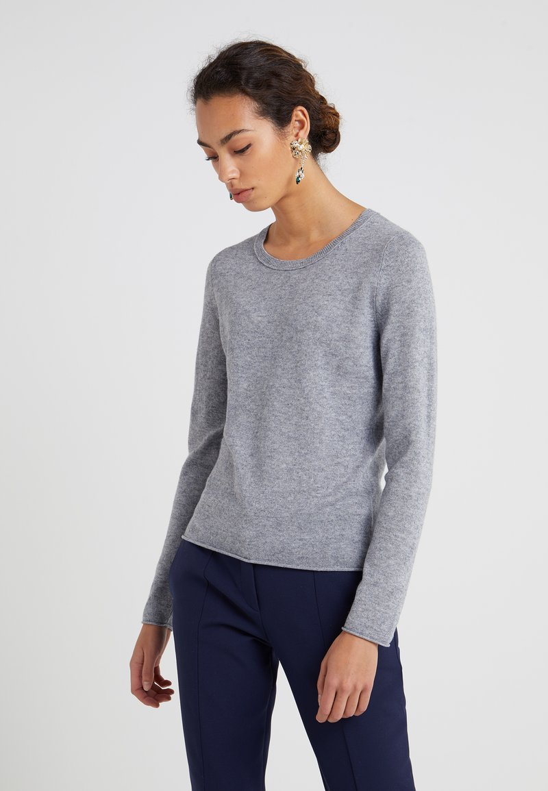 FTC Cashmere - CREW NECK - Sweter - opal grey