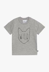 Tobias & The Bear - BABY WILD TEE - Print T-shirt - grey marl - 0