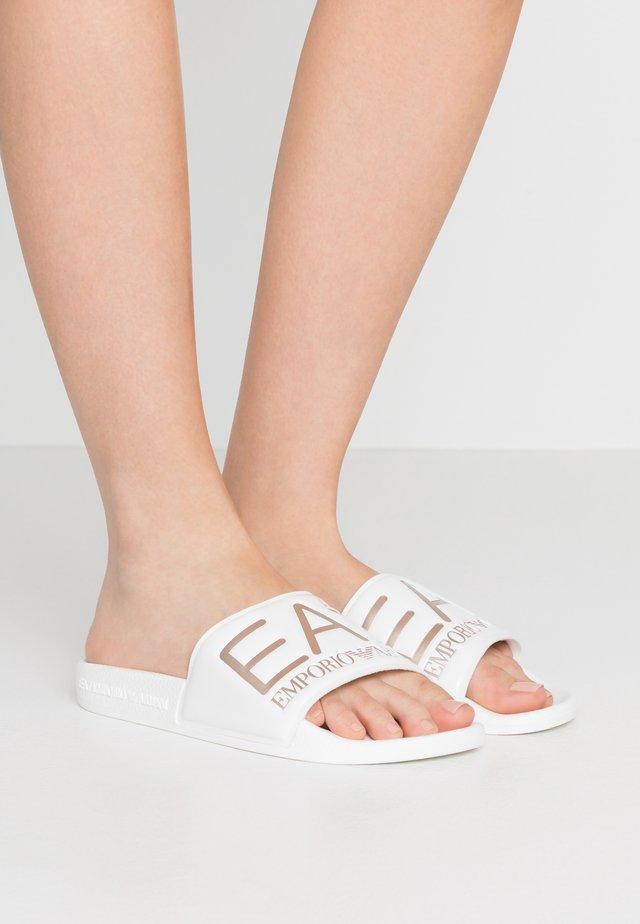 Ciabattine - white