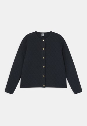 MALAVINE QUILTED  - Cardigan - smoking