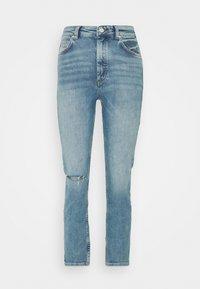 TOERE - Straight leg jeans - reddish light blue