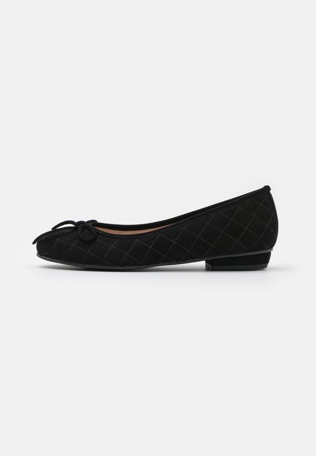 CARLA - Ballerinaskor - black