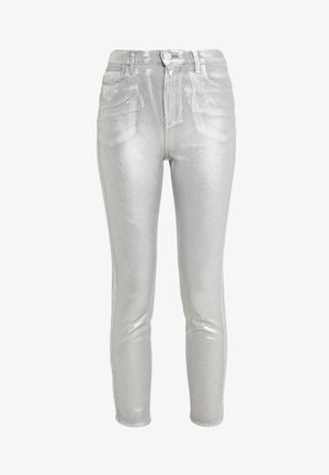 SUSAN  - Jeans Skinny Fit - argento metallizzato
