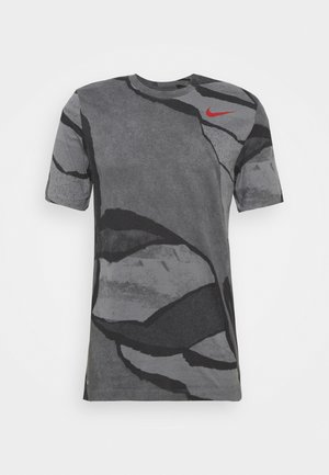 TEE - Print T-shirt - smoke grey