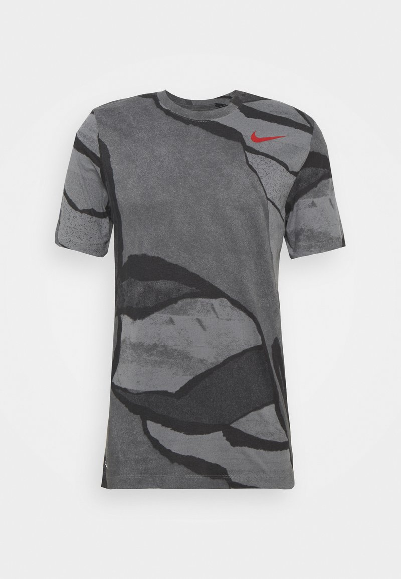 Nike Performance - TEE - T-shirt med print - smoke grey
